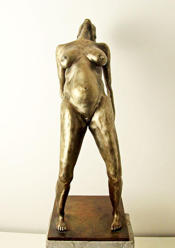 La ménopause - bronze sculpture